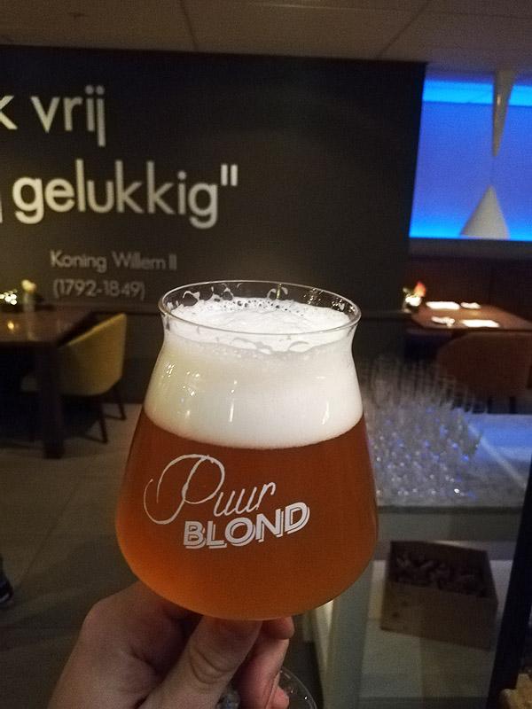 Puur Blond van Brouwerij 013