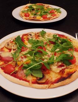 Recept Tortizza met toppings