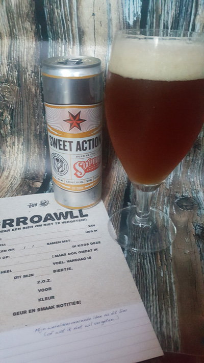 Review Sweet Action Sixpoint Brewery - Thomas Culinair